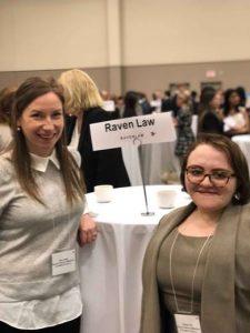 Raven Law attends Ottawa U Career Day